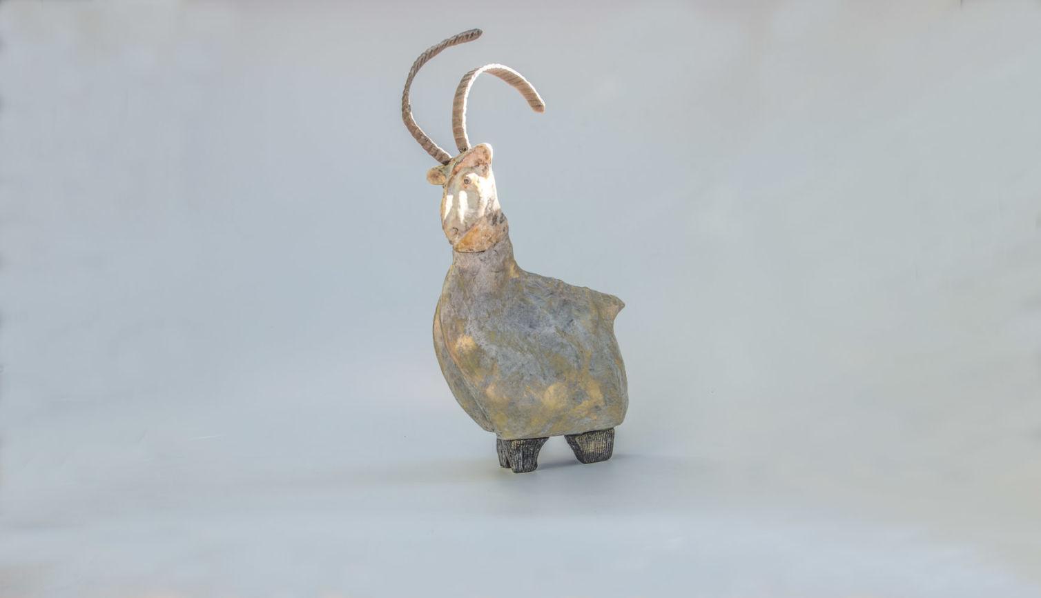La chèvre aux longues cornes