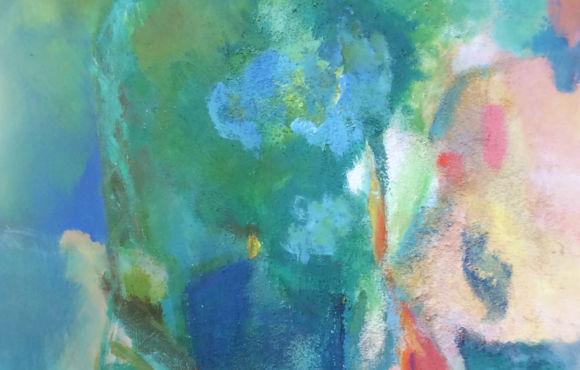 Le jardin – Fauteuil et table