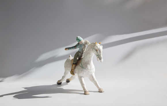 Cheval blanc raku