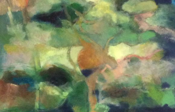 Jardin japonais – L'arbre tordu