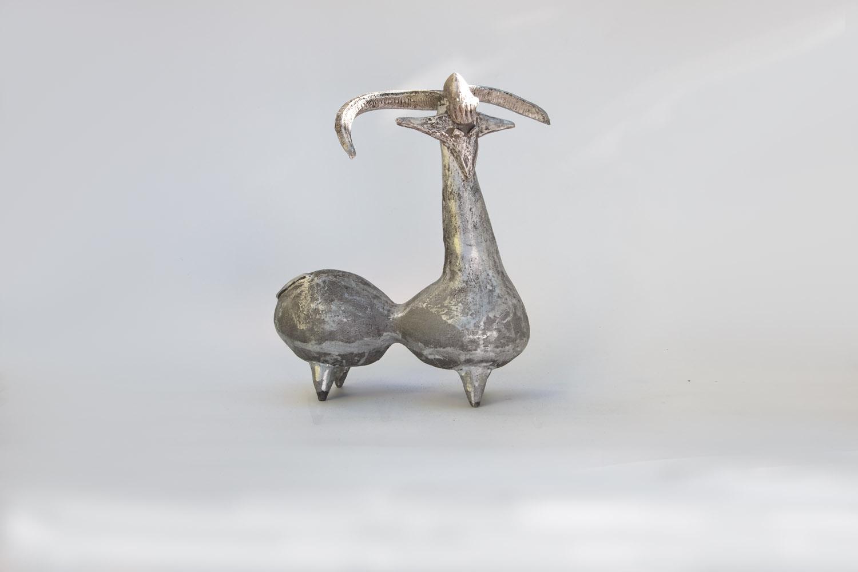 La chèvre boules bronze