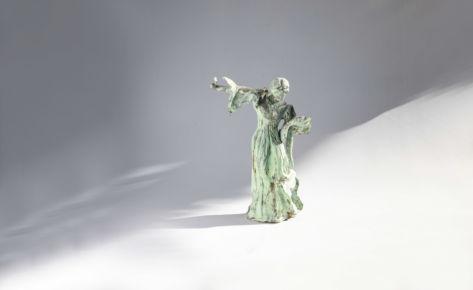 La danseuse verte patine