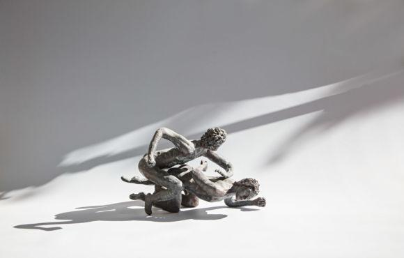 Lutteurs romains patine