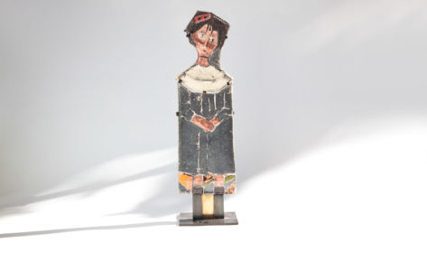 Petite fille d'Amadéo raku