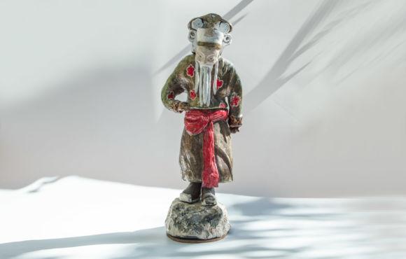 Vieux chinois raku